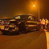 Man verliest macht over het stuur bij afrit A29