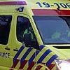 Brandweer oefent met zwaailicht en sirene