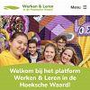 Werken en leren op 1 centraal platform in de Hoeksche Waard