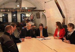 Voorlopig koopcontract getekend voor aankoop Fort Buitensluis