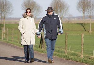 Populaire kerstwandeling door polders Hoeksche Waard