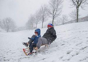 Sneeuw doet de Hoekschewaardse scholen sluiten