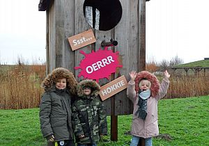 Vogelhuis XXL heet Sst… OERRR HOKKIE
