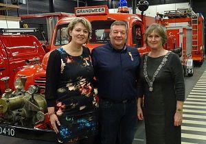 Twee koninklijke onderscheidingen bij brandweer