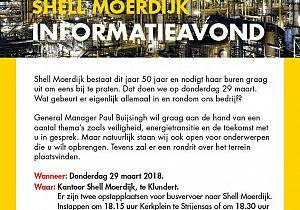 Informatieavond Shell Moerdijk