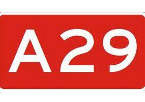 Weekendafsluiting A29 vanaf 25 mei