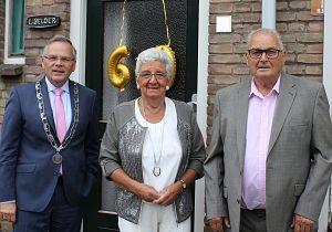 Echtpaar Belder viert 60-jarig huwelijk