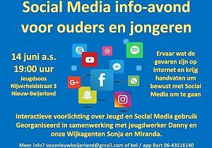 Social Media informatie avond voor ouders en jongeren