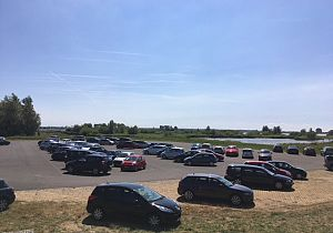 Parkeerterrein Natuurmonumenten Nieuwendijk op de schop