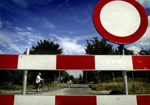 Kreupeleweg afgesloten