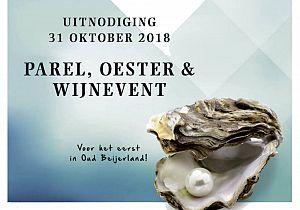 Voor het eerst in Oud-Beijerland: het Parel, Oester & Wijnevent