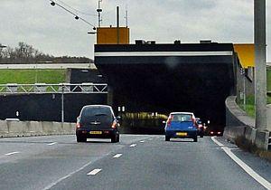 Heinenoordtunnel komend weekend weer afgesloten