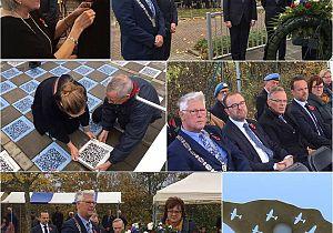 Herdenkingsplechtigheid monument Luchtoorlog Hoeksche Waard