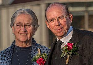 Echtpaar Visser 50 jaar getrouwd