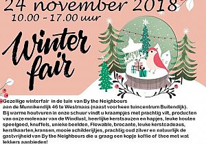 Gezellige winterfair in de tuin van By the Neighbours
