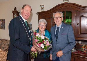 Echtpaar Berkman 50 jaar getrouwd