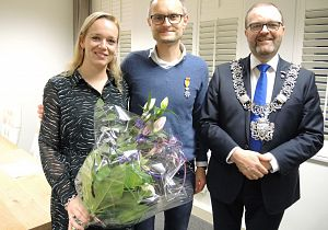 Koninklijke onderscheiding voor Ronald Zwijgers