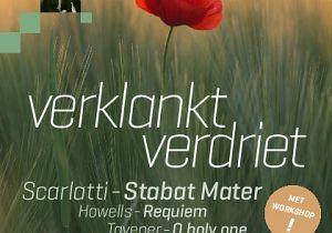 """""""Verklankt  verdriet"""", concert en workshop door Kamerkoor Toonkunst Rotterdam"""