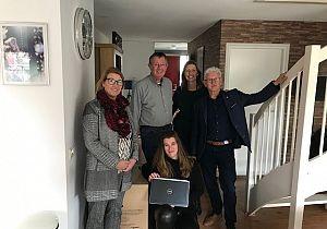 Hoekschewaardse Uitdaging bemiddelt in tussen Stichting Op weg naar huis en Copiatek