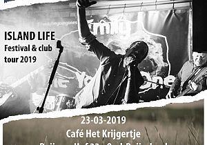 Bluesrockband 'Emily & the Young Ones' in Café het Krijgertje