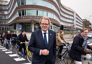 Jaap Smit voor één dag hoofdredacteur bij RTV Rijnmond