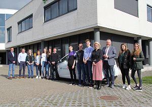 Leerlingen 5 vwo CSG Willem van Oranje gevengemeente Hoeksche Waard advies over duurzaamheid