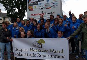 Team Korendijk levert topprestatie voor de hospice