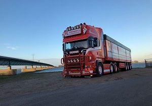 Joost Kleinjan uit Goudswaardkanshebber op eretitelMooiste Truck van Nederland
