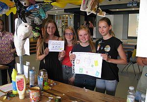 Creatieve ideeën voor schone wereld van leerlingen Hoeksch Lyceum
