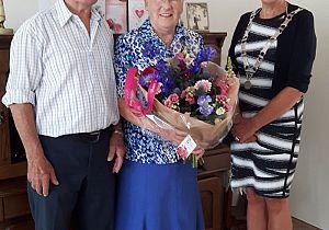 Echtpaar Verhoef 60 jaar getrouwd
