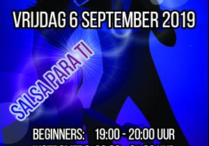 Salsa dansen in Numansdorp. Kom gratis kennismaken op 6 september