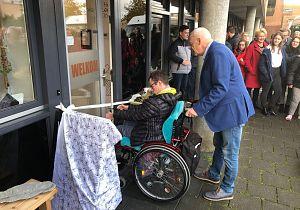 Opening sociale wijkwinkel WerkSaam van Activiteitencentrum Symfonie