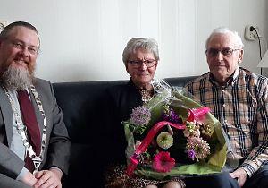 Echtpaar De Ruiter 60 jaar getrouwd