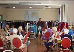 Modeshow in het Dorpshart
