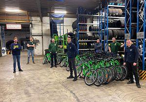 Zuid West Banden stelt fietsen beschikbaar via Hoeksche Waardse Uitdaging