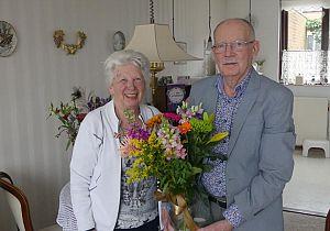 Echtpaar Tobe 60 jaar getrouwd