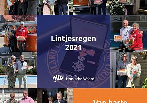 10 Hoeksche Waarders onderscheiden tijdens Lintjesregen 2021
