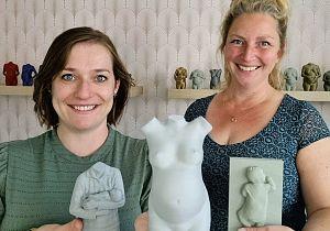 Print je Wonder vereeuwigt zwangerschap met 3D printtechnologie
