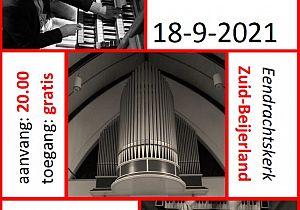 Vierhandig orgelconcert door Marien Stouten en Jan Peter Teeuw