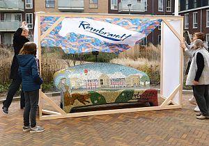 Feestelijke onthulling SocialSofa 'Rembrandt'