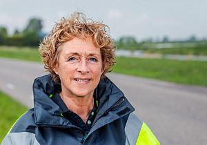 Waterschap verbetert veiligheid voor fietsers op Korteweg