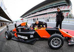 Suleiman Zanfari met MP Motorsport aan de start in Spaans F4-kampioenschap