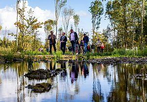 Openingsweekend Natuurbegraafplaats Zomerlanden groot succes