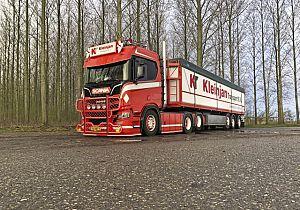Joost Kleinjan uit Goudswaard kanshebber op eretitel Mooiste Truck van Nederland