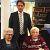 Locoburgemeester bezoekt briljanten bruidspaar