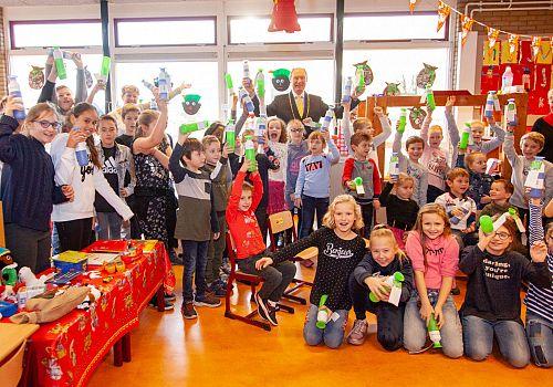 Dopper cadeau voor basisschoolleerlingen in de Hoeksche Waard