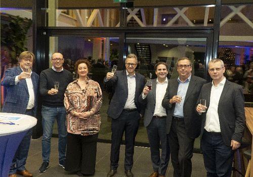 Geslaagde nieuwjaarsreceptie Businessclubs Hoeksche Waard