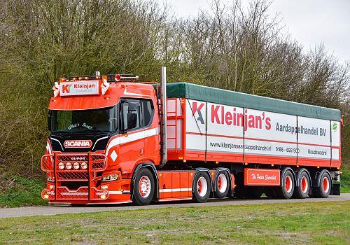 Joost Kleinjan uit Goudswaardkanshebber op eretitel Mooiste Truck van Nederland