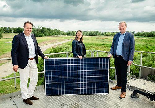 17.000 zonnepanelen voor Hollandse Delta