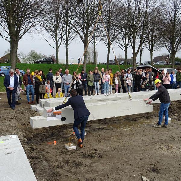 Officiële startsein 53 nieuwbouwwoningen voormalig Tuinwereld locatie
